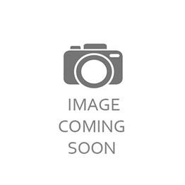 Knightsbridge High Gloss White and Black 4 Drawer Midi Chest